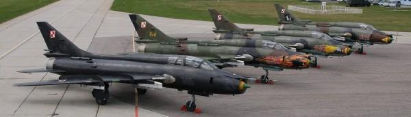 Su-22M4 w 21 Bazie Lotnictwa Taktycznego (fot. Cezary Adamczewski)