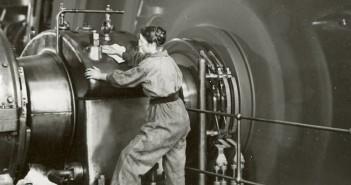 Zakłady BASF w 1917 roku - zdjęcie