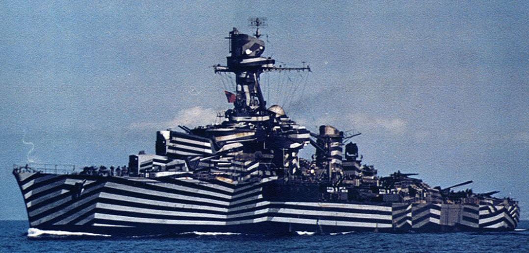 Dazzle camouflage - nietypowy kamuflaż okrętów wojennych