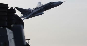 Rosyjskie Su-24 nad niszczycielem USS Donald Cook