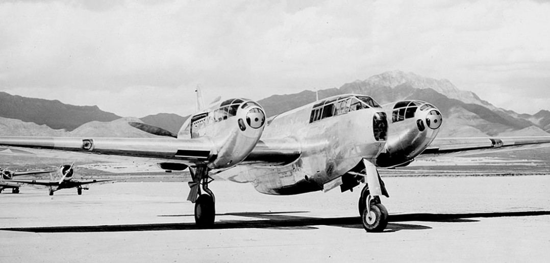 Ciężki myśliwiec Bell YFM-1 Airacuda