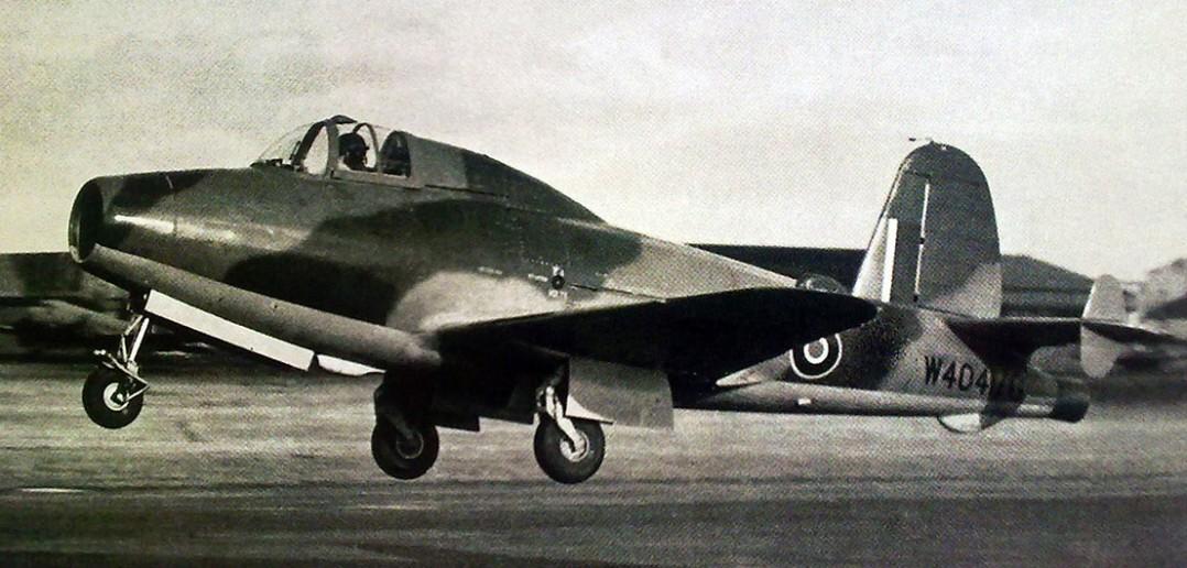 Pierwszy brytyjski odrzutowiec - Gloster Whittle E.28/39
