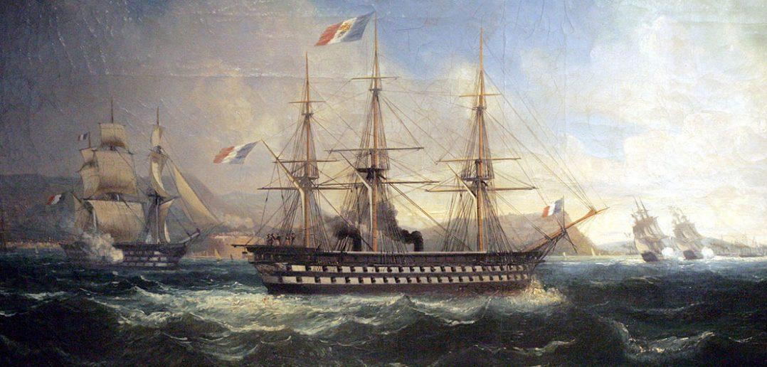 Napoleon - pierwszy parowy okręt liniowy