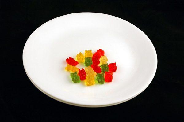 51 g żelków = 200 kalorii