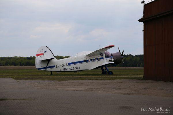 An-2, który wykonał lot dookoła świata w 1997 roku (fot. Michał Banach)
