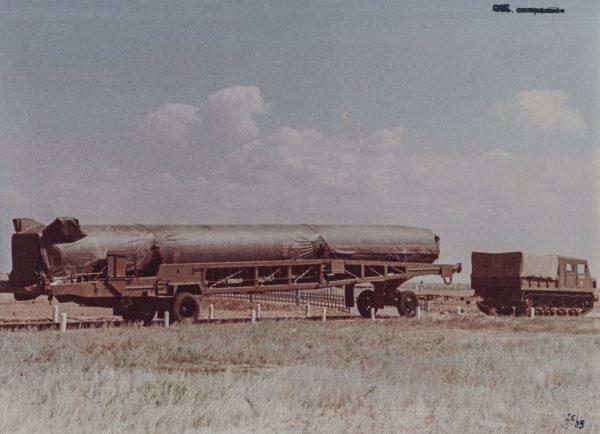 Pierwszy radziecki pocisk balistyczny z głowicą nuklearną - R-5M