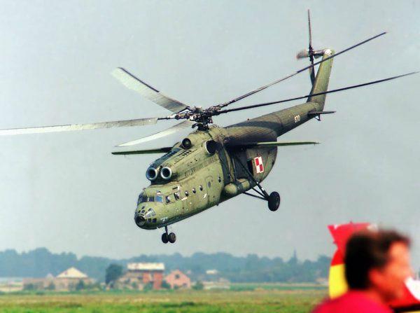 Jeden z polskich Mil Mi-6