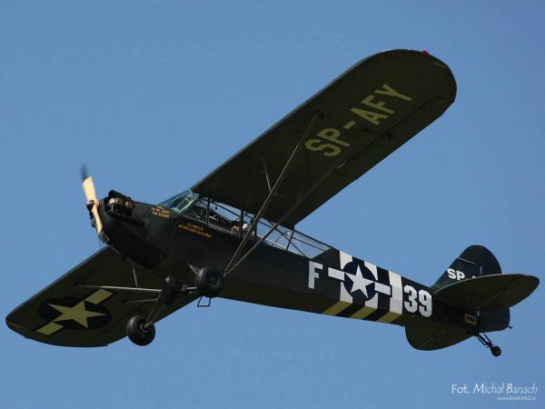 Piper L4/J3 Cub - Marek Masalski i Antoni Nowak