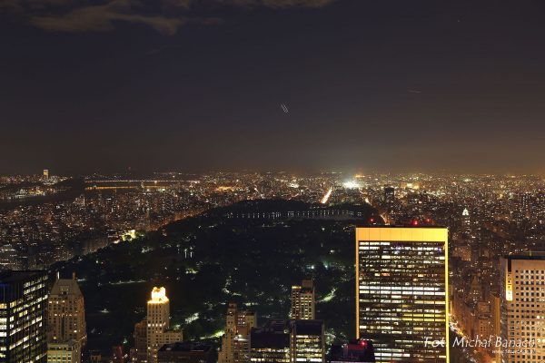 Manhattan nocą (fot. Michał Banach)
