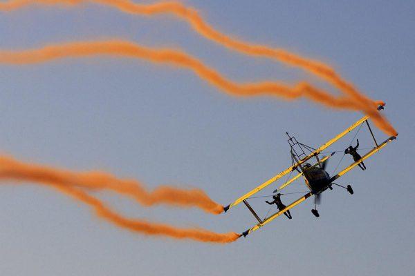 Scandinavian Airshow Wingwalking