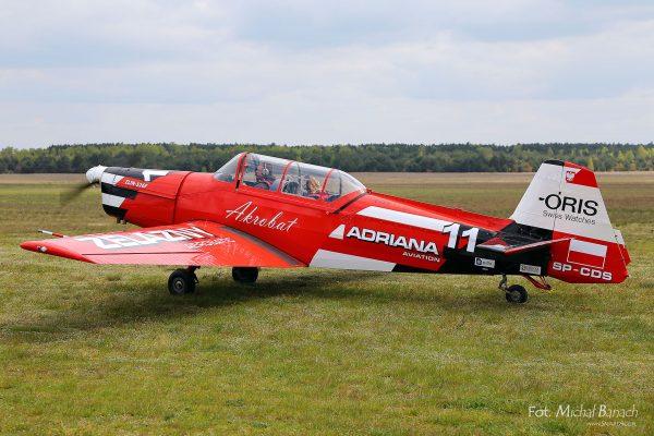 Zlin 526F - Żelazny (fot. Michał Banach)