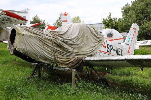 Zlin 42M (fot. Michał Banach)