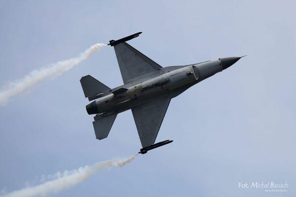 F-16 Belgia (fot. Michał Banach)