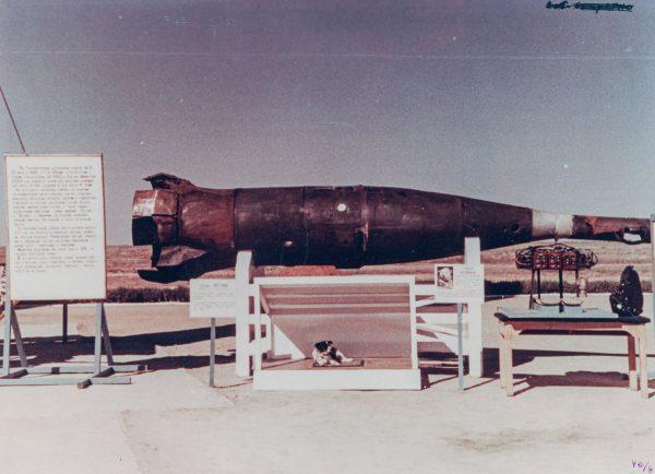 Głowica pocisku balistycznego R-5A