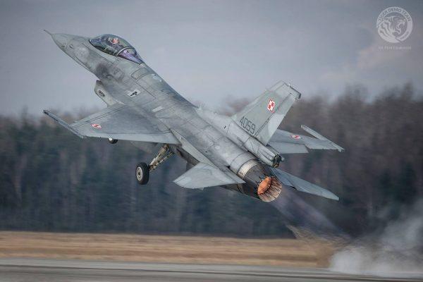 F-16 Jastrząb - Tiger Demo Team Poland