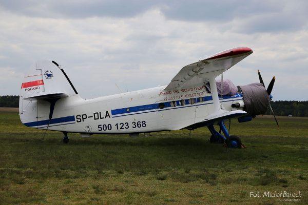 An-2 który wziął udział w locie dookoła świata w 1997 roku (Michał Banach)