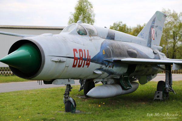 MiG-21MF (fot. Michał Banach)