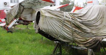Zapomniane samoloty na lotnisku Kobylnica - galeria