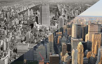 Manhattan dawniej i dziś - zdjęcie