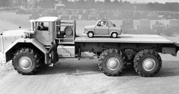 Berliet T100 - największa ciężarówka lat 50-tych