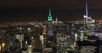Nowy Jork nocą - zdjęcia