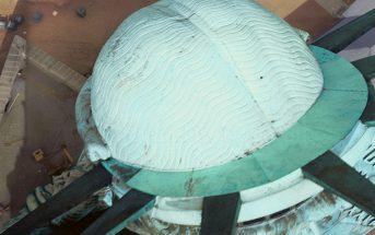 Statua Wolności z góry - zdjęcie