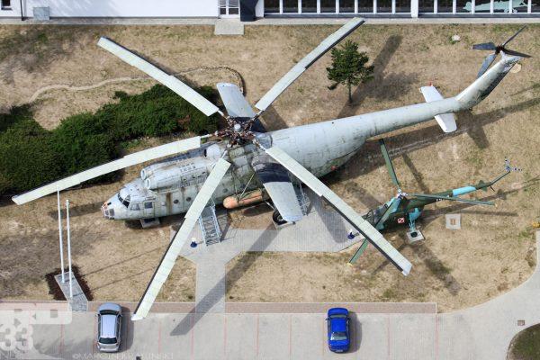 Mi-6 i Mi-1 (fot. Marcin Krasiński/rd33.net)