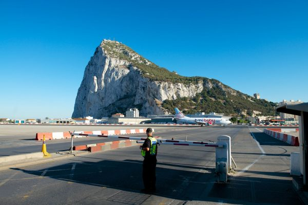Port Lotniczy Gibraltar (fot. nieznany)