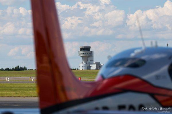 Cirrus SR22-GTS G5 - Dzień Spottera – Poznań Lotnisko Ławica (fot. Michał Banach)