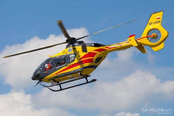 LPR Eurocopter EC135P2+ - Dzień Spottera – Poznań Lotnisko Ławica (fot. Michał Banach)