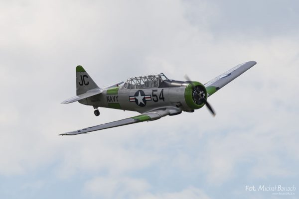 North American T-6 Texan - Leszno Air Picnic 2016 (fot. Michał Banach)