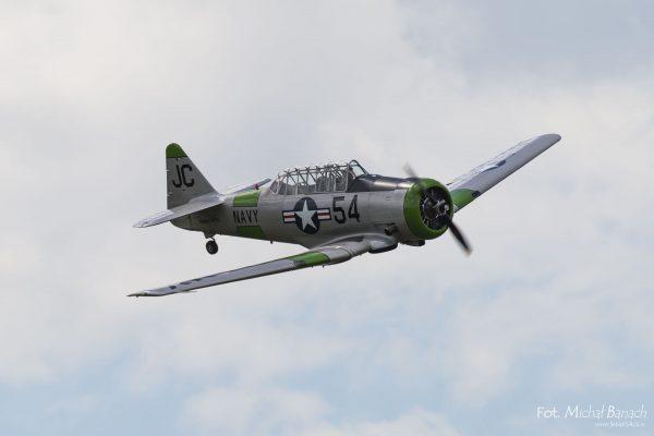 North American T-6 Texan - Leszno Air Picnic 2016 (fot. Michał Banach)