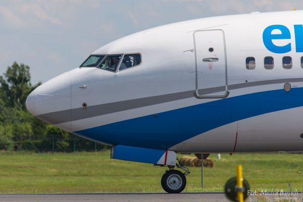 Enter Air Boeing 737-83N(WL) - Dzień Spottera – Poznań Lotnisko Ławica (fot. Michał Banach)