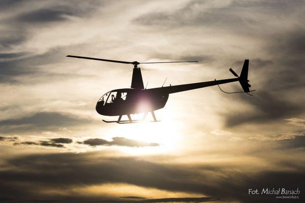 Robinson R44 - Leszno Air Picnic 2016 (fot. Michał Banach)