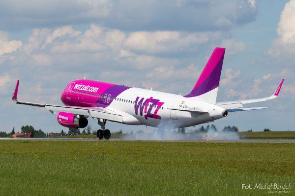 Wizz Air Airbus A320-232(WL) - Dzień Spottera – Poznań Lotnisko Ławica (fot. Michał Banach)