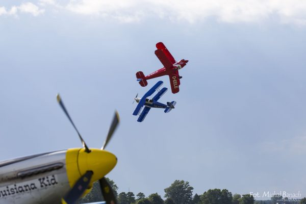 Red and Blue Bucker - Leszno Air Picnic 2016 (fot. Michał Banach)