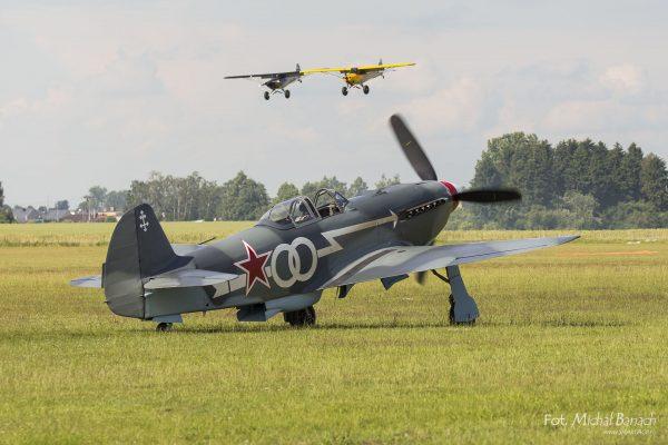 Jakowlew Jak-3 - Leszno Air Picnic 2016 (fot. Michał Banach)