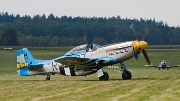 "P-51 Mustang ""Lousiana Kid"""