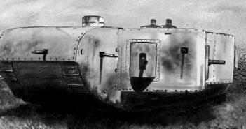 K-Wagen - olbrzymi czołg z I wojny światowej