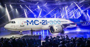 Nowy rosyjski samolot pasażerski - Irkut MC-21