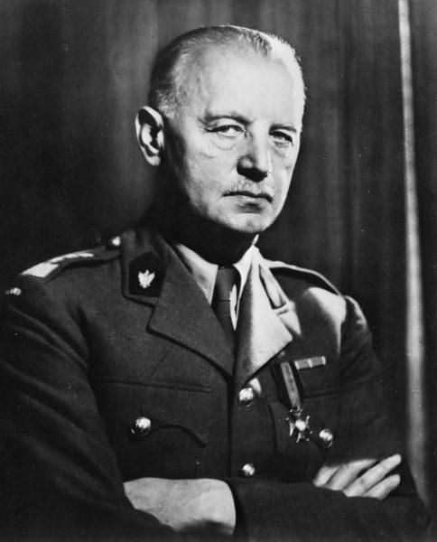 Generał Władysław Sikorski (20.05.1881-4.06.1943)