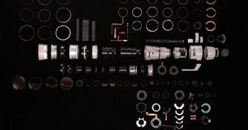 Obiektyw Canona za 40 tyś. zł rozłożony na części - film
