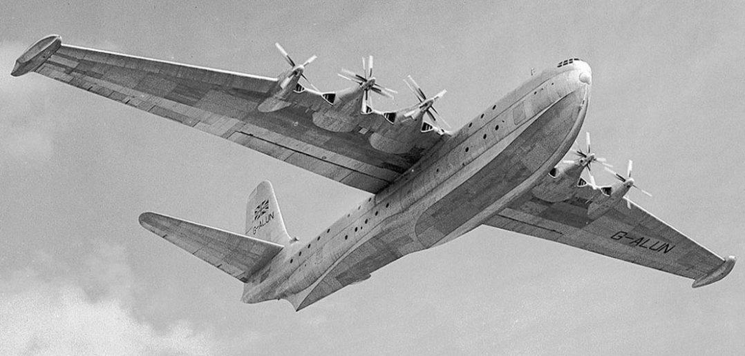 Saunders-Roe Princess - ostatnia wielka łódź latająca