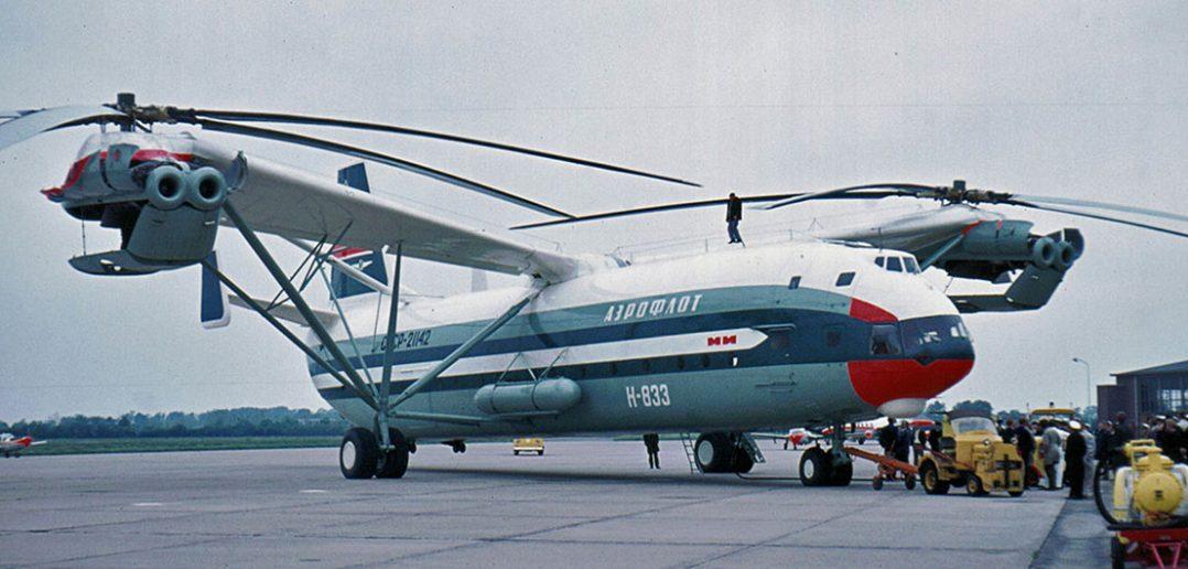 Mil W-12 (Mi-12) - największy śmigłowiec na świecie