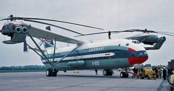 Mil Mi-12 - największy śmigłowiec na świecie