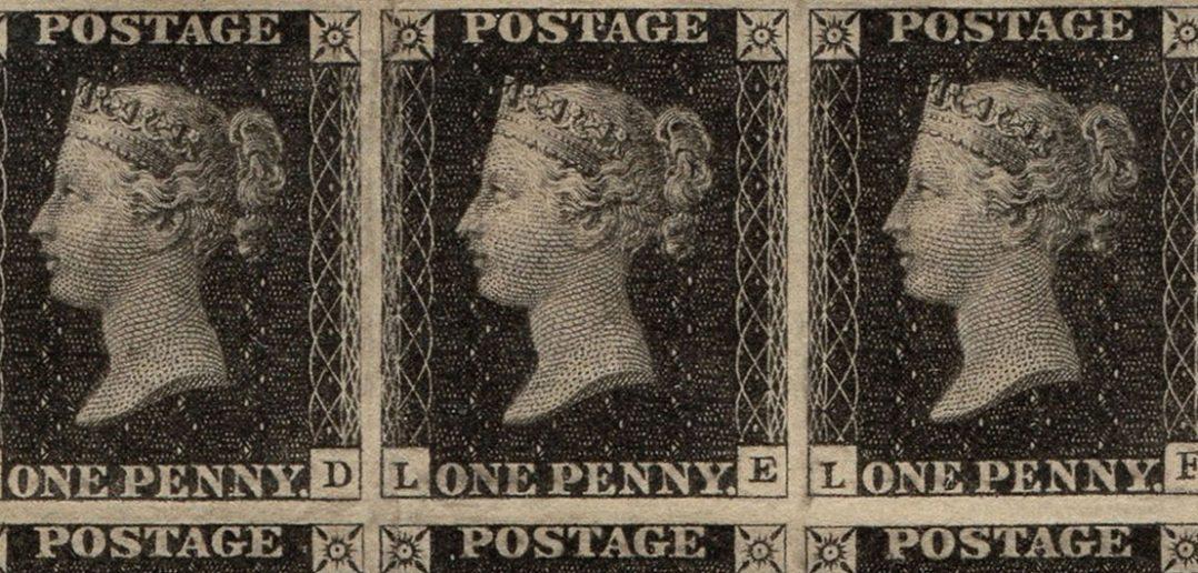 Penny Black - pierwszy znaczek pocztowy