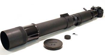 Nikkor 1200 mm F11 - wyjątkowy obiektyw na aukcji