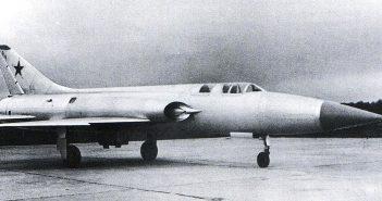 Suchoj P-1 - zapomniany rywal MiG-a-21