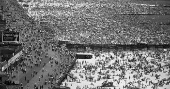 Coney Island w 1949 roku - zdjęcie