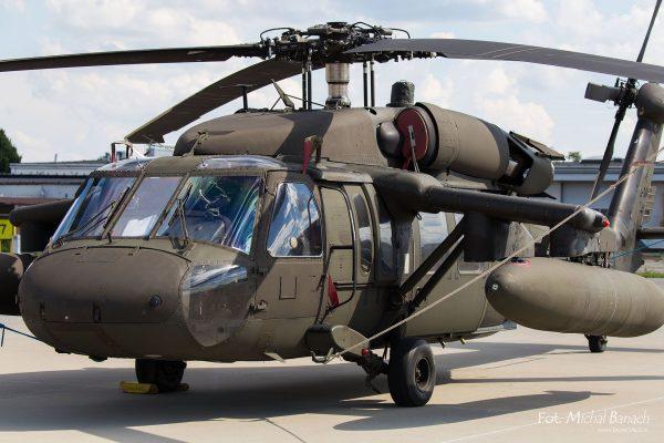 Sikorsky UH-60 Black Hawk - Dzień Spottera – Poznań Lotnisko Ławica (fot. Michał Banach)